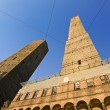 asinelli tower - bologna — Stock Photo