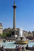 Trafalgar square - Londýn — Stock fotografie
