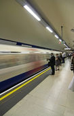 Underground - london Uk — Stock Photo