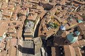 ガリゼンダの塔の主な正方形からの眺め — ストック写真