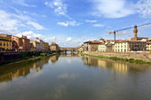 View of ponte vecchio - florence — Stock Photo