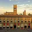 Main square - bologna — Stock Photo