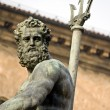 Neptune's portrait - bologna — Stock Photo