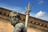 Neptune's portrait - bologna — Stock Photo