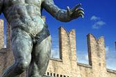 Neptune's penis - bologna, italy — Stock Photo