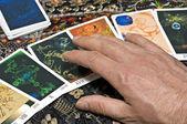 Tarot cards — Stock Photo