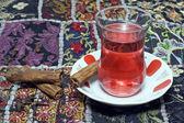 Traditionele turkse thee — Stockfoto
