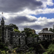 Belvedere Castle with HDR Toning — Stock Photo