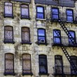 Rustic Apartment Building — Stock Photo
