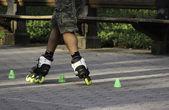 Rollerblading — Stok fotoğraf