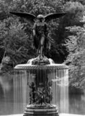 Bethesda Fountain Central Park — Stock Photo