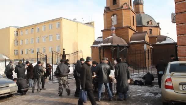 église orthodoxe russe — Vidéo
