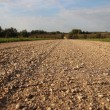Stock Photo: Gravel road