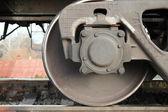 Russian Railways. Locomotives, wagons. — Stock Photo