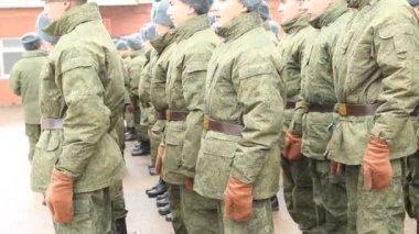 Die russische Armee — Stockvideo
