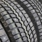 Winter tires — Stock Photo