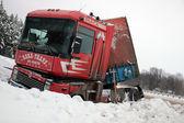 Truck accident — Stock Photo