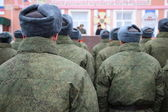 Russian army. — Stock Photo