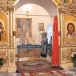 Stock Video: RUSSI- OCTOBER 23: Liturgy in RussiOrthodox Church