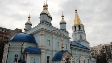 Russian Orthodox Church — Stock Video