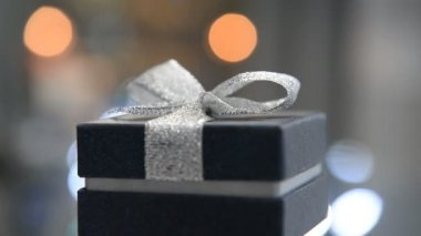 Caja de regalo para joyería — Vídeo de Stock