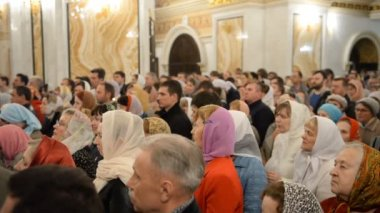Russian Orthodox Church, Easter. Easter service. — Vidéo