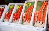 King crab legs — Foto Stock