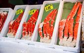King crab legs — Stock Photo