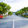Stock Photo: Slope road in Hakodate Japan2