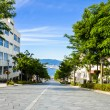 Stock Photo: Slope road in Hakodate Japan