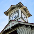 Sapporo Clock Tower in Sapporo Japan2 — Stock Photo