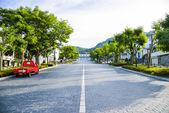 Slope road in Hakodate Japan2 — Stock Photo