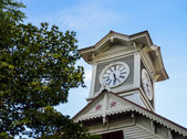 Sapporo Clock Tower in Sapporo Japan5 — Stock Photo