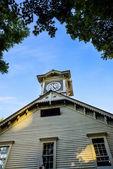 Torre do relógio de Sapporo em sapporo japan1 — Fotografia Stock