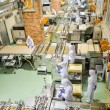 SAPPORO, JAPAN - JULY 23 Operators work in Chocolate factory on — Stock Photo #41372271