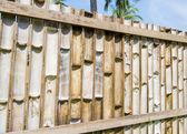 Bamboo fence2 — Stock Photo