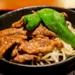 Stock Photo: Lamb grill in Genghis khmenu2