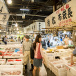 Walking in Tsukiji fish market Japan3 — Stock Photo #41690157