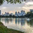 Stock Photo: Lake 's Public garden in Thailand2
