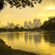 Stock Photo: Lake 's Public garden in Thailand3