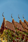 Gable apex on roof Temple in Thai style6 — Стоковое фото