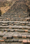 Old brick stair for stupa — Stock Photo
