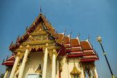 Thai Temple in Ratchaburi provice Thailand1 — Stock Photo