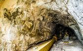 佛成型在泰国 style1 的石头墙上的艺术 — 图库照片