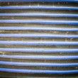 Blue strip ceramic wall pattern1 — Stock Photo