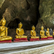 Stock Photo: Roll of Buddhstatue in cave3
