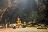 Tören için büyük Buda thailand6 büyük Mağarası vardır — Stok fotoğraf