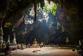Buddha statue in the cave of Thailand1 — Stock Photo