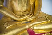 Hand of Golden Buddha statue3 — Stock Photo