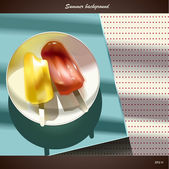 Ice Cream — Stockvector